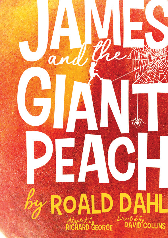 Encore Theatre James and the Giant Peach Poster